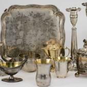 Silberobjekte aus jüdischem Eigentum im Bayerischen Nationalmuseum