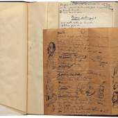 exceptional collection of autograph manuscripts and drawings by Tristan Tzara. Photo: Courtesy of Sims Reed