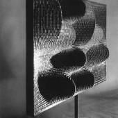 "Vjenceslav Richter, ""Geschlossene Sinusoiden"", 1968, Aluminium, Neue Galerie Graz/Universalmuseum Joanneum, Foto: Johann Koinegg/UMJ"