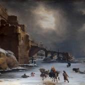 Stadtmauern im Winter Willem Schellinks 1650 Leinwand, 74 x 105 cm Amsterdam, Rijksmuseum © Amsterdam, Collection Rijksmuseum