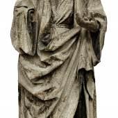 Skulptur Stehender Heiliger Tirol, um 1500,Ausrufpreis: 4.000