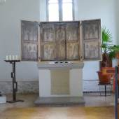 Marienaltar in der Schlosskirche in Luetzschena © Hannelore Schmelzer/Deutsche Stiftung Denkmalschutz