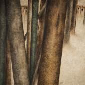 Sohrab Sepehri, oil on canvas, untitled, 1974 (est. £200,000-300,000)
