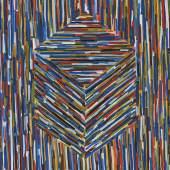 Sol LeWitt (1928 – 2007)  Cube (A) | 1994 | Gouache auf Papier | 155 x 153,5 cm Taxe: 100.000 – 150.000 €