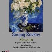 Plakat: Sergey Sovkov zu Stilleben und Blumen