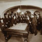 Billardpartie im alten Café Dobner, 1909 © Wien Museum