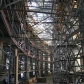 Baustellenführung Kolonnade, Neues Palais