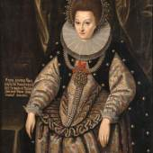 Daniel Rose: Kurfürstin Anna von Brandenburg, geb. Herzogin von Preußen; Gemälde, 1595 Foto: Jörg P. Anders