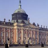 Potsdam, Park Sanssouci, Neues Palais, Gartenseite, Mittelrisalit © SPSG / Foto: Hagen Immel