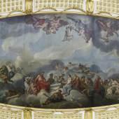 Deckengemälde im Marmorsaal des Neuen Palais Foto: SPSG / Hans Bach