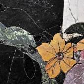 Neues Palais, Detail des Fußbodens im Marmorsaal © SPSG