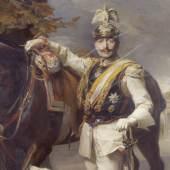 Philip de László, Wilhelm II., 1911, durch Schnittverletzungen 1918 beschädigt (Detail) © SPSG / Foto: Wolfgang Pfauder