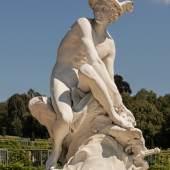 Park Sanssouci, Französisches Figurenrondell, Merkur © SPSG / Hans Christian Krass