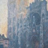 Claude Monet (1840–1926) Die Kathedrale von Rouen: Das Portal, Morgenstimmung, 1893-1894 Öl auf Leinwand, 110 x 73 cm Fondation Beyeler, Riehen/Basel, Sammlung Beyeler Foto: Robert Bayer, Basel