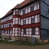 Bunter Hof in Osterwieck, Nordfassade © DFZ Quedlinburg