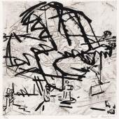Frank Auerbach, Tree of Tretire I (1975)