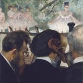 Edgar Degas (1834–1917) Die Orchestermusiker, 1872 Öl auf Leinwand, 63,6 × 49,0 cm Städel Museum, Frankfurt am Main Foto: © Städel Museum