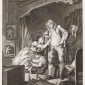 William Hogarth (1697-1764)  Nachher, 1736 Radierung und Kupferstich, 41,2 x 33,3 cm Städel Museum, Frankfurt am Main Foto: Städel Museum – ARTHOTHEK