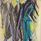 Ernst Ludwig Kirchner, Berliner Straßenszene, 1914