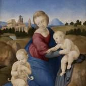 Raffael (1483–1520) Madonna Esterházy, um 1507/08 Öl auf Holz, 29 x 21,5 cm Szépművészeti Múzeum, Budapest, 2016