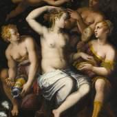 Giorgio Vasari (1511–1574) Die Toilette der Venus, um 1558 Öl auf Holz, 154 x 124,7 cm Staatsgalerie Stuttgart, Stuttgart
