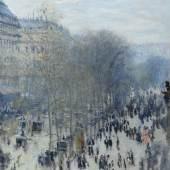 Claude Monet (1840-1926) Der Boulevard des Capucines, 1873-1874 Öl auf Leinwand 80,3 x 60,3 cm The Nelson-Atkins Museum of Art, Kansas City, Missouri Foto: Jamison Miller © The Nelson-Atkins Museum of Art, Kansas City, Missouri