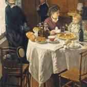 Claude Monet (1840-1926) Das Mittagessen, 1868 Öl auf Leinwand 231,5 x 151 cm Städel Museum, Frankfurt am Main Foto: Städel Museum – ARTOTHEK © Städel Museum, Frankfurt am Main