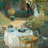 Claude Monet (1840-1926) Das Mittagessen, 1873 Öl auf Leinwand 160 x 201 cm Musée d'Orsay Foto: bpk | RMN - Grand Palais | Patrice Schmidt © Musée d'Orsay, legs de Gustave Caillebotte, 1894