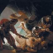 Rembrandt Harmensz. van Rijn (1606–1669) Die Blendung Simsons, 1636 206 × 276 cm Öl auf Leinwand Städel Museum, Frankfurt am Main Foto: Städel Museum – U. Edelmann