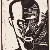 Abbildung: Karl Schmidt-Rottluff, Selbstbildnis, 1919, © VG Bild-Kunst, Bonn 2019