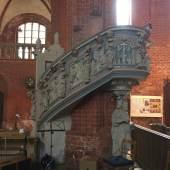 Kanzel in der St. Johanniskirche in Werben © Marie-Luise Preiss/Deutsche Stiftung Denkmalschutz