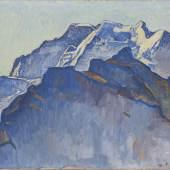 Ferdinand Hodler, Das Jungfraumassiv von Mürren aus, 1911, Öl auf Leinwand, Hahnloser/Jaeggli Stiftung, Winterthur, Foto: Reto Pedrini, Zürich
