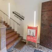 Stadtgalerie Rathaus Eingang über die Prunktreppe © Alexander Killer
