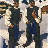 WALDE, Alfons 1891 – 1951 Bauernsonntag 1936        Auktion 61 28. Mai 2015 Auktionsergebnis € 306.000