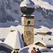 WALDE, Alfons 1891 – 1951 Tiroler Dorf 1931     Auktion 61 28. Mai 2015 Auktionsergebnis € 450.000