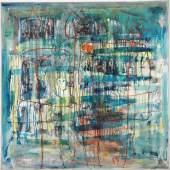 4 Bilder Übereinander, 1959, Öl/Leinwand, 145x145 cm