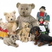 Steiff-Raritäten, seltene Puppen, Karusselle und Automaten © Nagel Auktion