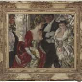 PANTER & HALL Steven Spurrier RA RBA ROI (London 1878 - 1961) In the Nineties, 1948 Oil on canvas board 51 × 61 cm. (20 × 24 in.) £4,850