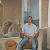 Steven Black, 2016.19 2016, Öl auf Leinwand, 120 x 100 cm
