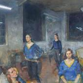 Steven Black, 2019.03 2016-2019, Öl auf Leinwand, 140 x 210 cm