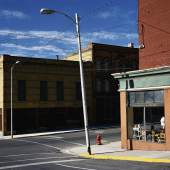 Street Corner Butte, Montana, 2003 c-print 186 x 224 cm. Courtesy Wenders Images.