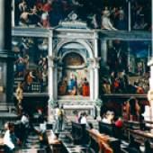 Thomas Struth San Zaccaria, Venezia, 1995 Farbfotografie,  182 x 230,5 cm Kunsthaus Zürich, © Thomas Struth