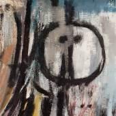 "Sujet ""Kunst-Kontroversen"", Friedrich Aduatz, ""Moru"", 1961 (Detail), Neue Galerie Graz, UMJ, Foto: Universalmuseum Joanneum"