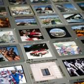 Dias: Gerhard Steffen;  Multimediale Sammlungen, Foto: N. Lackner, 2011