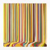 Ian Davenport /  Colour Explosion /  Ian Davenport: Summer, from: The Four Seasons 2019 Radierung / 115 x 113 cm / Auflage 30