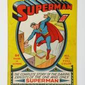 Superman No. 1, June 1939