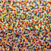 Susi Kramer (1947), Rhythmen, 2011, Acryl auf Leinwand, 60 x 60 cm