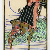 Susi Singer, Postkarte der Wiener Werkstätte (Nr. 631), 1912 © MAK