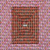 Andreas Oehlert Erwartung 5, Aquarell auf Papier, 2015, 150 x 104 cm  Foto: Annette Kradisch