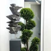 """((Bild Sylvio Skulptur 4; Bildnachweis: Sylvio Eisl)): Organische Formen inspirieren das Skulpturenwerk des Schweizers Sylvio Eisl, Mitglied der elsässischen Galerie """"Skulpturbar""""."""